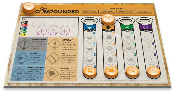 Juegos De Baño Quimico:Juego de mesa sobre crear compuestos químicos