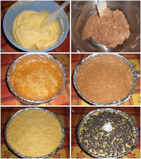 torta gelato alla crema di mascarpone