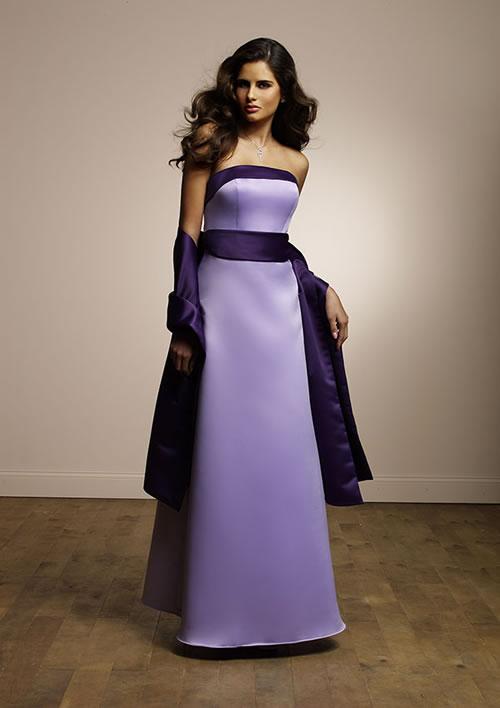 Summer wedding idea lavender bridesmaid dresses bring for Bridesmaid dresses for november weddings