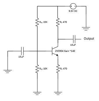 Common emitter amplifier wvoltage divider biasing transistor amplification ccuart Choice Image
