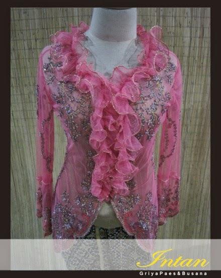 Kebaya Modern Warna Pink