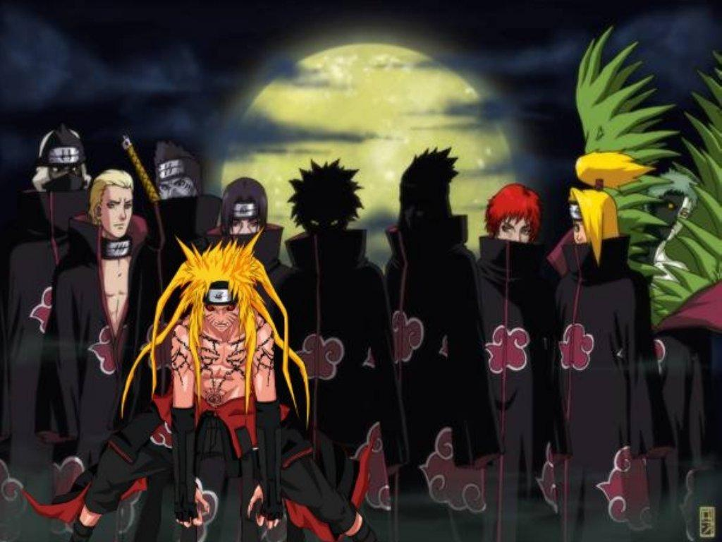 Naruto with Akatsuki Naruto Shippuden Wallpapers  Naruto Shippuden