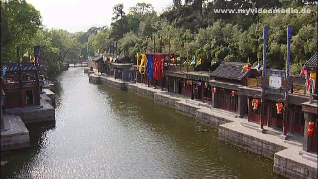 Suzhou Road in the Summer Palace in Beijing