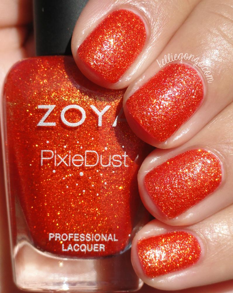 Zoya Pixie Dust Nail Polish Review - Creative Touch