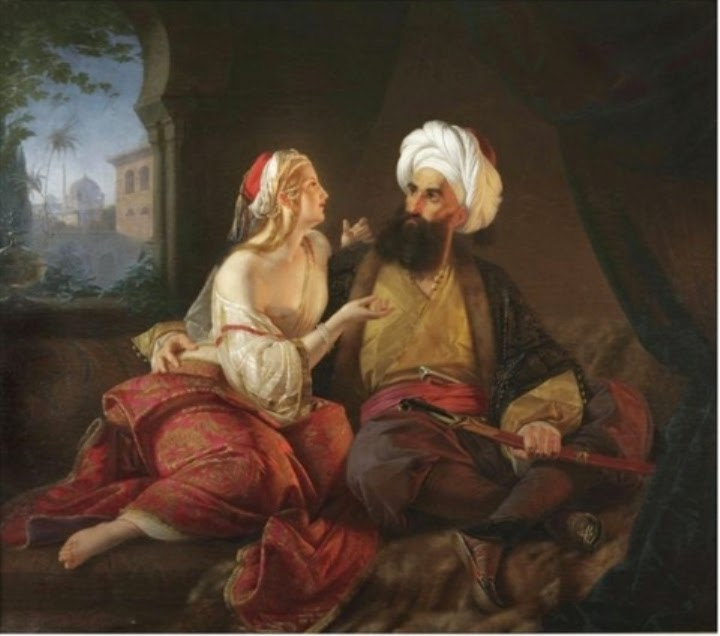 Ali Pasha and Kira Vassiliki by Paul Emil Jacobs