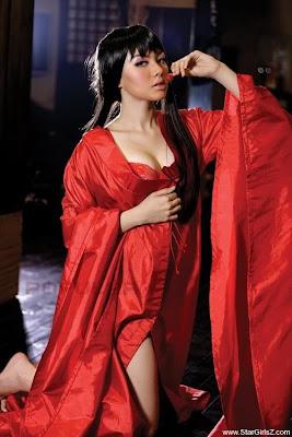 vicky shu seksi model Galeri Foto Menantang Vicky Shu Ala Jepang