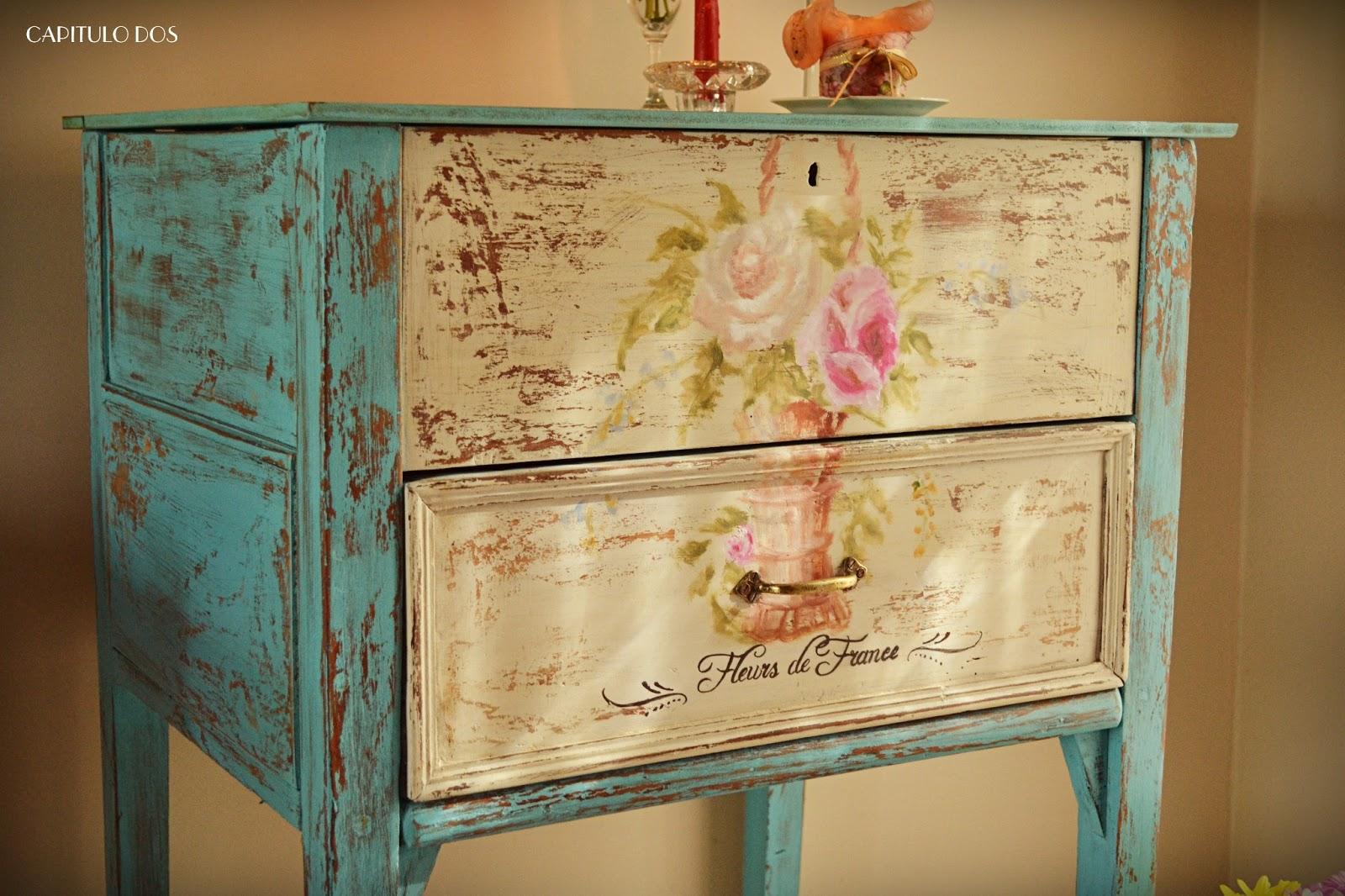 Capitulo dos dise o historia una formula encantadora - Armarios pintados a mano ...
