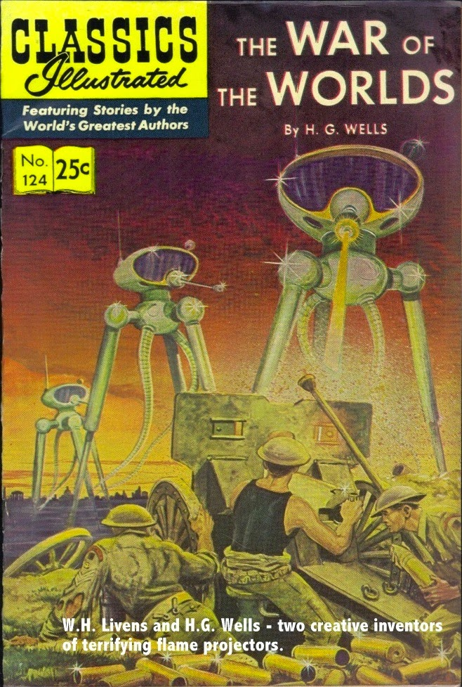 Classics Illustrated - THE WAR OF THE WORLDS