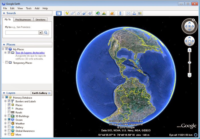 How To Use Google Earth Offline For The PC Which Has No Internet - Google earth online