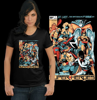 Hanna-Barbera Super-Heroes #1 t-shirt from ShirtPunch