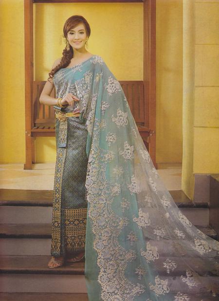 Beautilicious d pretty sweet style thailand wedding dress for Thai style wedding dress