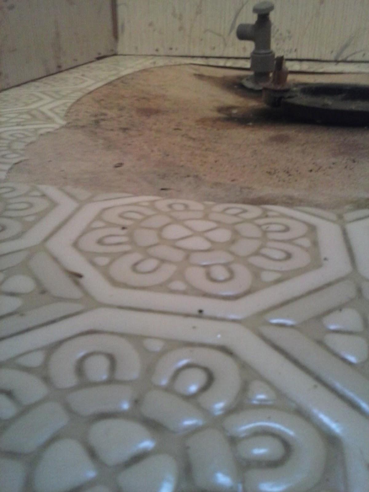 Sagging Floor Under a Toilet Flange.