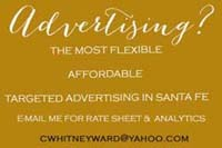 ADVERTISE ON CHASING SANTA FE