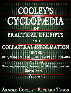 cooleys, cyclopaedia, encyclopedias, arts, manufactures, professions, trades, medicine