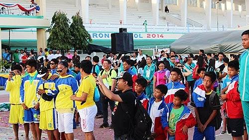 Palarong Bicol 2014 awarding ceremony