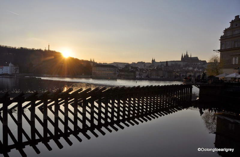 Vltava River, Charles Bridge, Prague Castle