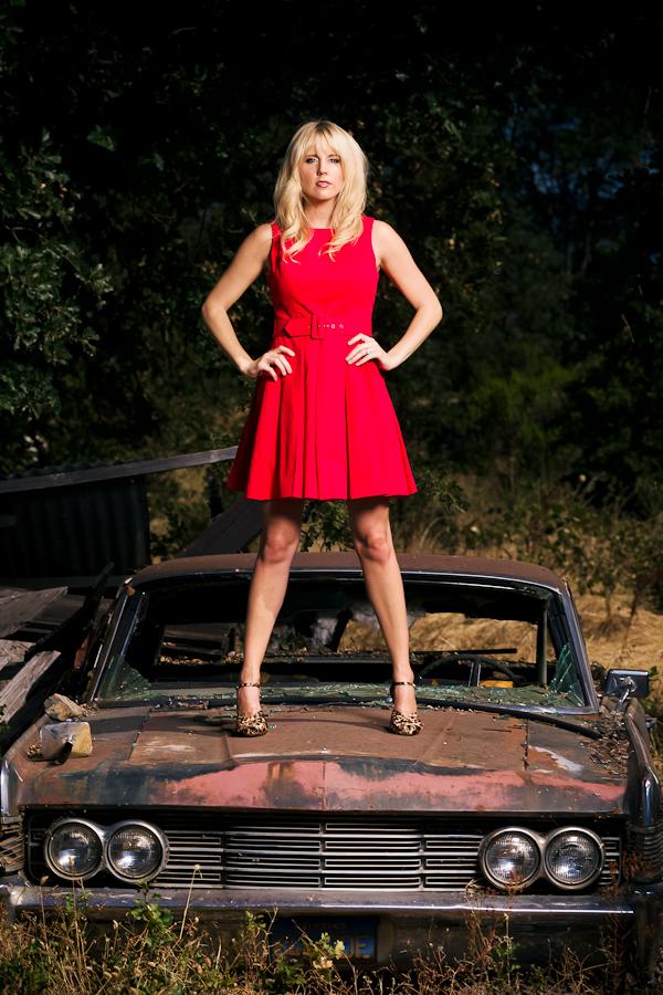 Red dress heels men