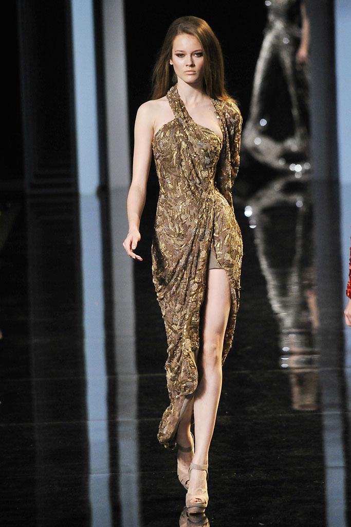 elie saab 2010 fall couture, shailene woodley, divergent