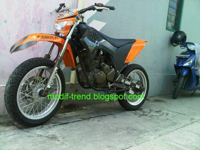 scorpio modif to trail