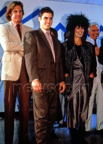 Bruce Jenner, Tom Cruise and Cher
