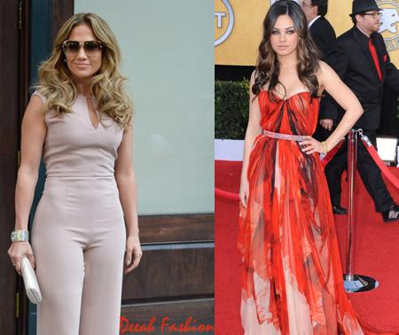 Perubahan Gaya Seleb Hollywood di Karpet Merah