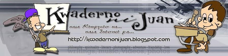 Kwaderno ni Juan
