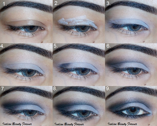Grey Eye Makeup Step By Step Tutorial And Fotd Indian Beauty Forever