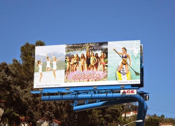 Model Turned Superstar web series premiere billboard