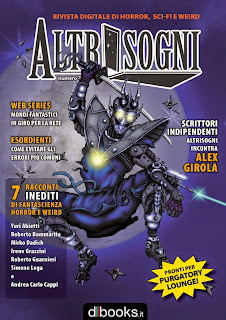 La copertina del mai pubblicato Altrisogni n.7, disegnata da Giorgio Borroni.