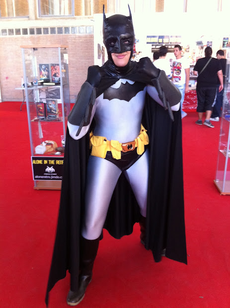 Batman en la Comic Con Spain 2012