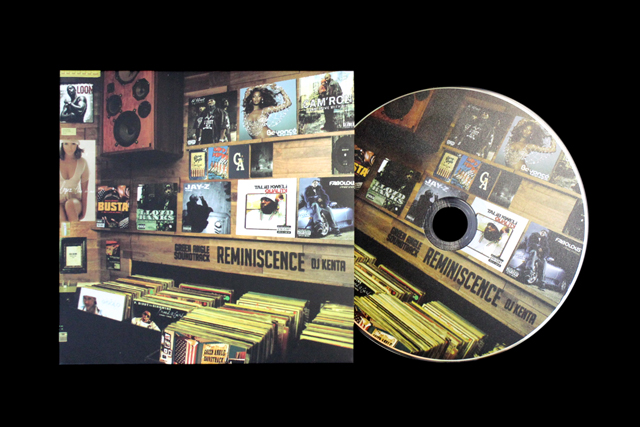 Greenangle soundtrack reminiscence mixcd djkenta 2014 fall