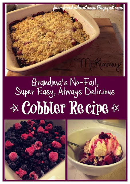 Grandma's No-Fail, Super Easy, Always Delicious Cobbler Recipe
