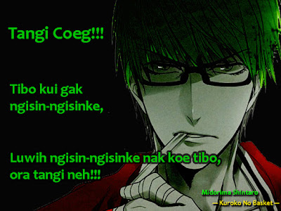 anime quotes Midorima Shintaro