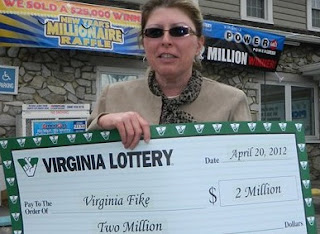 virginia woman wins 1 million lottery