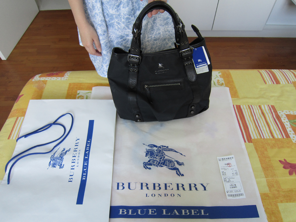 lovely burberry blue label and black label bags wallets and purses ...