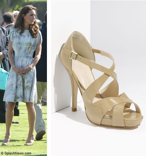 Duchess kate kate loves shoes part 1 for Lk bennett wedding dress