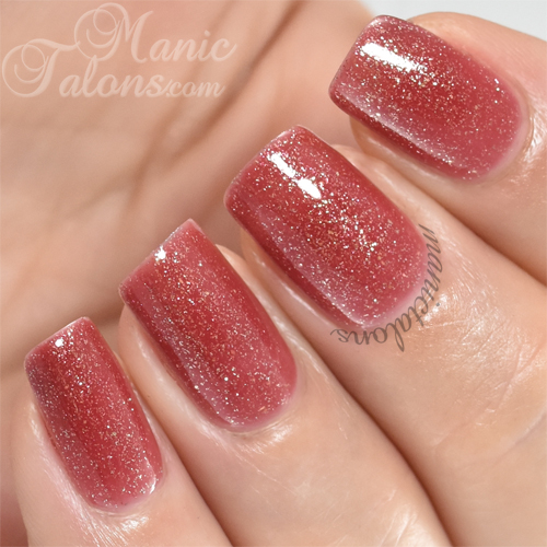 Madam Glam One Step Glitter Lady Swatch