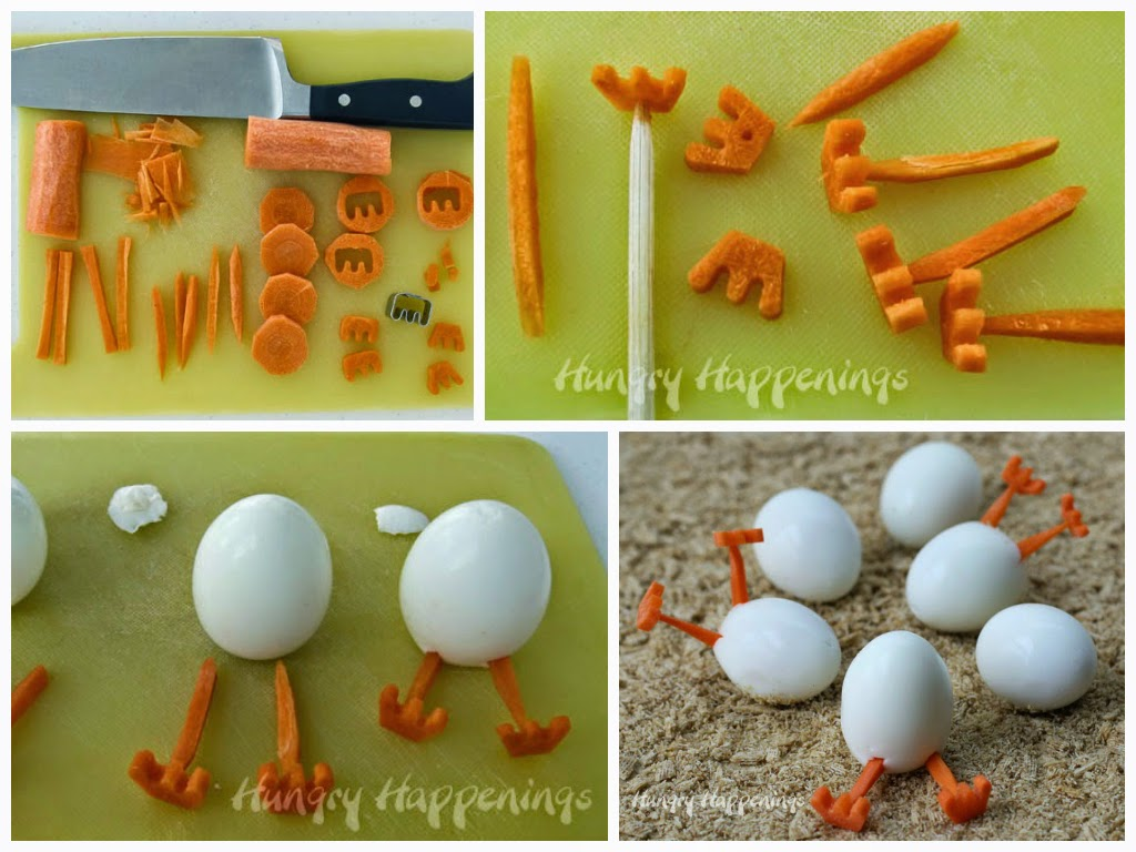 украшения из яиц на стол цыплята