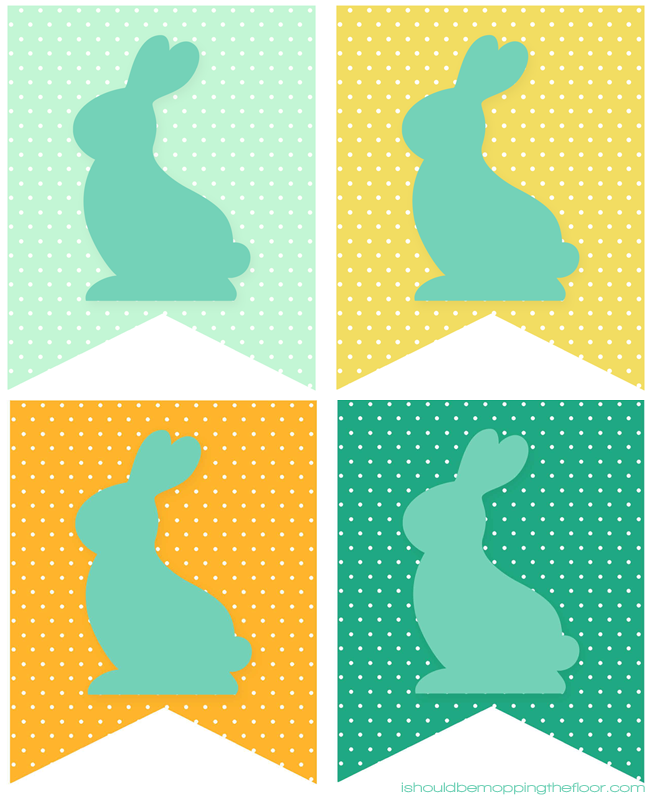 Enterprising image within easter banner printable