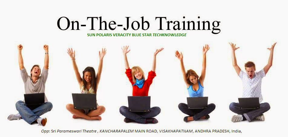 Job Training Training Methods on Job