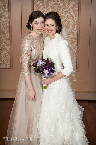Shaina\'s wedding! | Sewing Sleeves