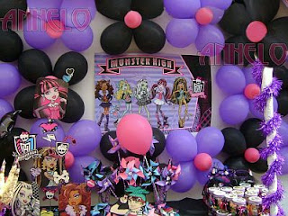 Monster High Decoration for children parties