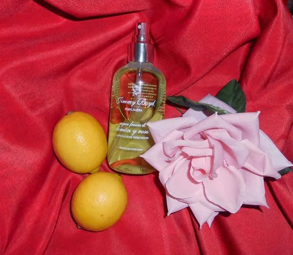 perfume Jimmy boyd agua fresca de limón y rosa