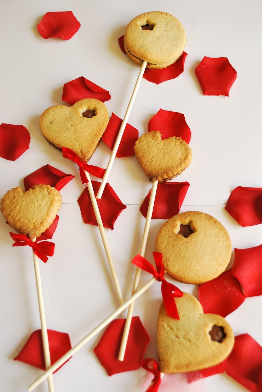 valentine's cookies pop