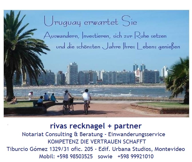 Uruguay erwartet Sie