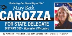 Mary Beth Carozza For State Delegate District 38C