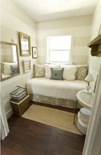 stylesbyginny: tips voor de inrichting van een kleine kamer., Deco ideeën