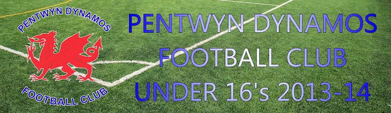 Pentwyn Dynamos Under 16s 2013/14