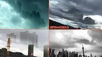 flying city in china - pływające miasto w Chinach