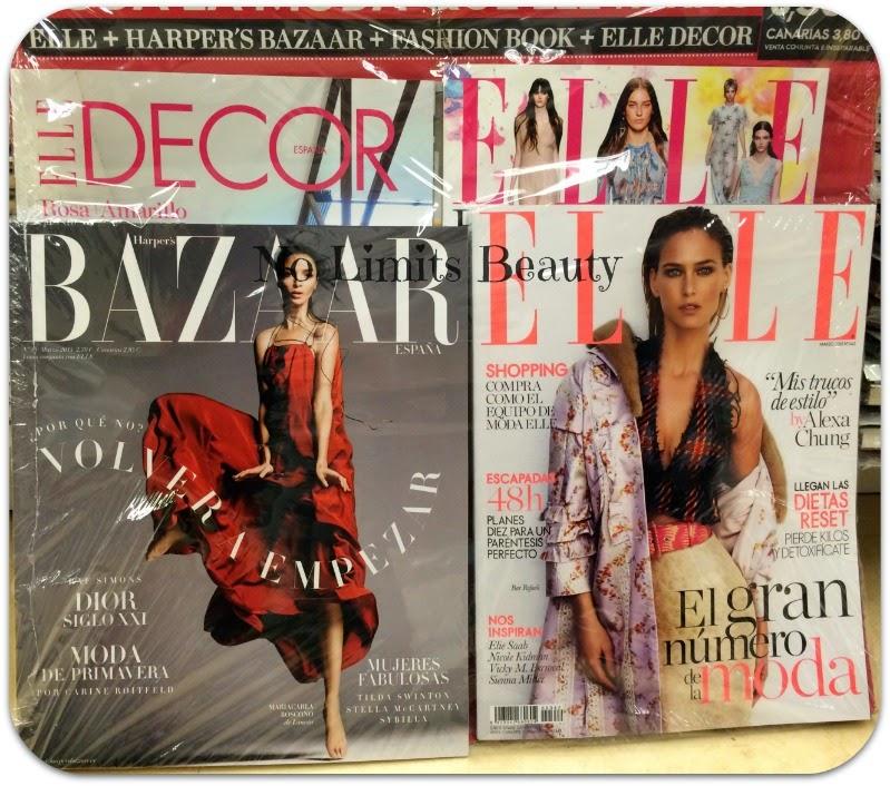 Regalos revistas Marzo 2015: Elle